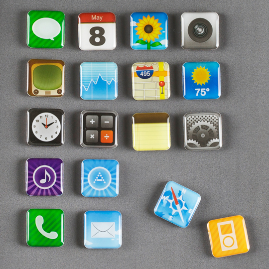 Iphone APPs Magnets